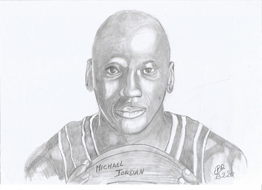Michael Jordan by Patoux